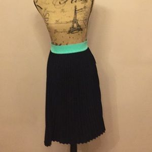 NWT LULAROE black pleated skirt